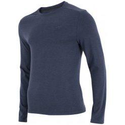 4F Koszulka Z Długim Rękawem H4Z17 tsml001 Denim Melanż S. Szare koszulki sportowe męskie marki 4f, m, z bawełny, z długim rękawem. W wyprzedaży za 42,00 zł.