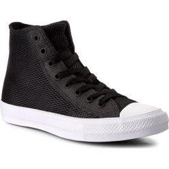 Trampki CONVERSE - Ctas II Hi 155731C Black/Black/White. Czarne trampki męskie Converse, z gumy. W wyprzedaży za 249,00 zł.