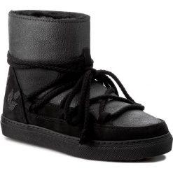 Buty INUIKII - Sneaker Cystal Fabric 20135 Black. Czarne buty zimowe damskie Inuikii, ze skóry. W wyprzedaży za 699,00 zł.