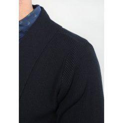 Swetry rozpinane męskie: Lindbergh Kardigan navy