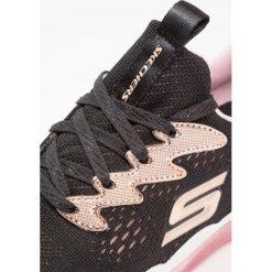 Skechers SPARKLE SPRINTS Tenisówki i Trampki black/rose gold. Szare trampki chłopięce marki Skechers, z materiału. Za 239,00 zł.