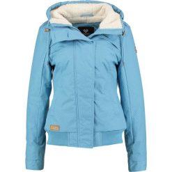 Odzież damska: Ragwear EWOK MINIDOTS Kurtka zimowa light blue