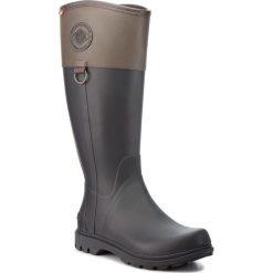 Kalosze VIKING - Ascot II 1-36900-208 Black/Brown. Brązowe buty zimowe damskie Viking, z materiału. W wyprzedaży za 289,00 zł.