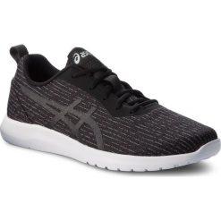 Buty ASICS - Kanmei 2 1021A011 Black/Black 001. Czarne buty do biegania męskie Asics, z materiału, na sznurówki. W wyprzedaży za 189,00 zł.