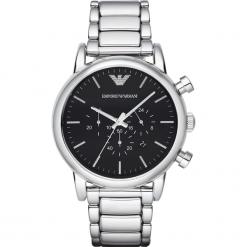 Zegarek EMPORIO ARMANI - Classic AR1894  Silver/Silver. Szare zegarki męskie marki Emporio Armani. Za 1269,00 zł.