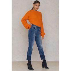 IVY Krótkie jeansy Ree - Blue. Niebieskie jeansy damskie marki IVY, z denimu. W wyprzedaży za 183,98 zł.
