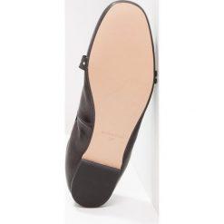 Baleriny damskie lakierowane: mint&berry Baleriny z zapięciem black