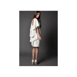 Sukienki: SUKIENKA KOKTAJLOWA z dekoltem na plecach – IMAAN