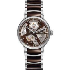 ZEGAREK RADO CENTRIX GENT AUTOMATIC SKELETON R30 179 30 2. Brązowe zegarki męskie RADO, ceramiczne. Za 7720,00 zł.