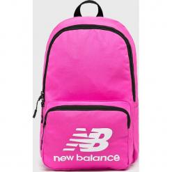 New Balance - Plecak. Różowe plecaki damskie New Balance, z materiału. W wyprzedaży za 84,90 zł.