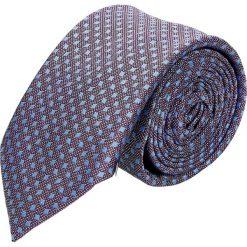 Krawat platinum fiolet classic 212. Szare krawaty męskie Recman. Za 49,00 zł.