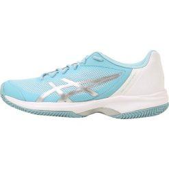 Buty sportowe damskie: ASICS GEL COURT SPEED CLAY Obuwie do tenisa Outdoor porcelain blue/silver/white