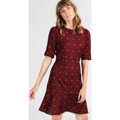 Odzież damska: Hobbs ELLE Sukienka letnia burgundy
