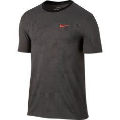 Nike Koszulka Dry TEE DBL RUN AOP szary r. S (839518 038). Szare t-shirty męskie Nike, m. Za 107,88 zł.