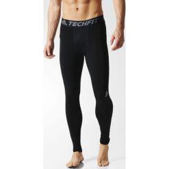 SPODNIE TF BASE TIGHT. Czarne odzież termoaktywna męska Adidas, m, z elastanu. Za 129,99 zł.