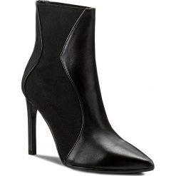 Botki EVA MINGE - Marisol 2C 17BL1372253EF 101. Czarne buty zimowe damskie Eva Minge, z materiału. Za 649,00 zł.