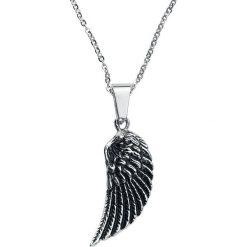 Naszyjniki damskie: Flügel Naszyjnik srebrny