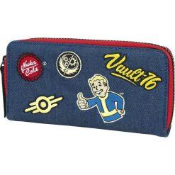 Fallout 76 Portfel niebieski. Niebieskie portfele damskie Fallout, z aplikacjami. Za 99,90 zł.