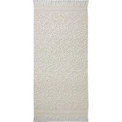 """Kąpielówki męskie: Ręcznik kąpielowy """"Grace"""" w kolorze kremowym"""