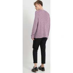 Swetry klasyczne męskie: Hope Sweter light lilac