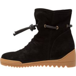Botki damskie lity: Shoe The Bear LINE Botki na koturnie black