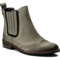 Botki LORETTA VITALE - 2671  Grey. Szare buty zimowe damskie Loretta Vitale, z nubiku, na obcasie. W wyprzedaży za 249,00 zł.