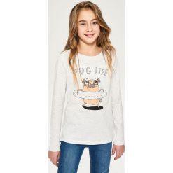 Odzież dziecięca: Koszulka z nadrukiem - Jasny szar