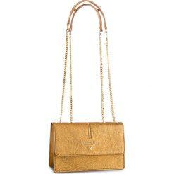 Torebka PATRIZIA PEPE - 2V5920/AA94-Y342 Dark Gold. Czarne torebki klasyczne damskie marki Patrizia Pepe, ze skóry. W wyprzedaży za 799,00 zł.