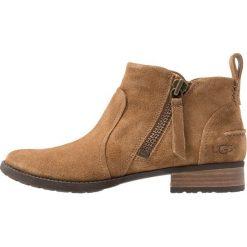 UGG AUREO Ankle boot chestnut. Brązowe botki damskie skórzane marki Ugg. Za 689,00 zł.