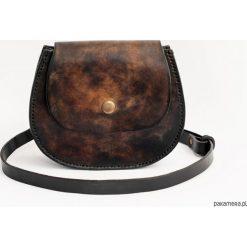 Torebka skórzana na ramię/biodro B2. Szare torebki klasyczne damskie Pakamera, z materiału. Za 350,00 zł.