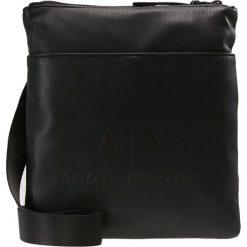 Armani Exchange Plecak black/gun metal. Czarne plecaki męskie marki Armani Exchange, l, z materiału, z kapturem. Za 549,00 zł.