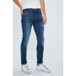 Tommy Hilfiger - Jeansy Layton. Niebieskie jeansy męskie slim TOMMY HILFIGER, z bawełny. Za 539,90 zł.