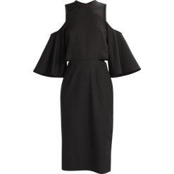 Sukienki hiszpanki: NAKD CUT OUT TIED NECK  Sukienka koktajlowa black