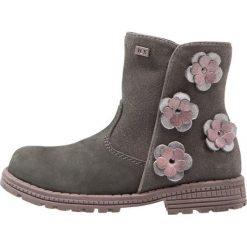 Lurchi REGINATEX Botki dark grey. Szare buty zimowe damskie Lurchi, z materiału. W wyprzedaży za 149,50 zł.