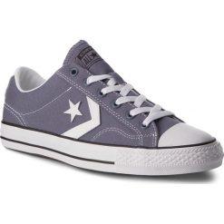 Trampki CONVERSE - Star Player Ox 160557C Light Carbon/White/Black. Szare tenisówki męskie Converse, z gumy. W wyprzedaży za 189,00 zł.
