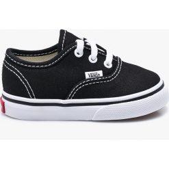 Vans - Tenisówki dziecięce. Szare buty sportowe dziewczęce Vans, z gumy, na sznurówki. Za 149,90 zł.