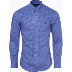 Polo Ralph Lauren - Koszula męska slim fit – łatwa w prasowaniu, niebieski. Niebieskie koszule męskie na spinki Polo Ralph Lauren, l, button down. Za 499,95 zł.