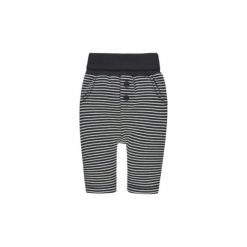 Steiff Spodnie Jogging marine. Szare spodnie chłopięce marki Steiff, z aplikacjami, z bawełny. Za 89,00 zł.
