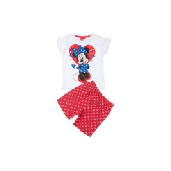 Piżama dziewczęca Myszka Minnie we wzory. Szare bielizna dziewczęca TXM, z motywem z bajki. Za 29,99 zł.