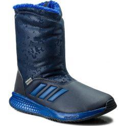 Buty zimowe chłopięce: Śniegowce adidas – RapidaSnow K S81125 Conavy/Croyal/Sesoye