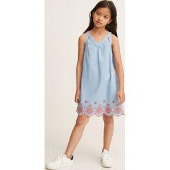 Odzież dziecięca: Mango Kids – Sukienka dziecięca Arti 110-164 cm
