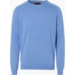 Swetry męskie: Nils Sundström – Sweter męski, niebieski
