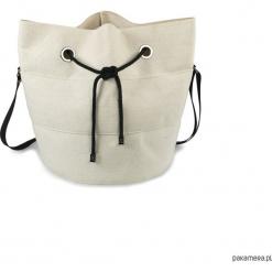 Canvas culture BASIC torba kubełkowa. Brązowe torebki klasyczne damskie Pakamera. Za 160,00 zł.
