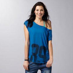 Reebok Koszulka damska AER Graphic Tee niebieska r. XS (Z93459). Niebieskie bluzki z odkrytymi ramionami Reebok, xs. Za 65,56 zł.