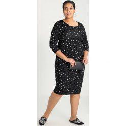 Sukienki hiszpanki: Evans SPOT POCKET DRESS Sukienka etui black