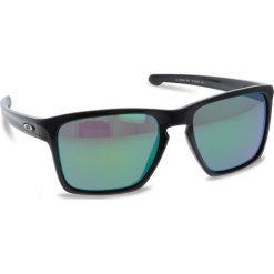 Okulary przeciwsłoneczne OAKLEY - Sliver XL OO9341-1957 Polished Black/Prizm Jade Iridium. Czarne okulary przeciwsłoneczne męskie aviatory Oakley, z tworzywa sztucznego. W wyprzedaży za 479,00 zł.