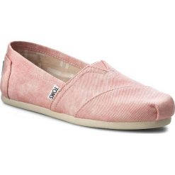 Creepersy damskie: Półbuty TOMS - Classic 10009706 Coral Washed