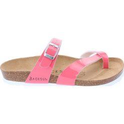 Buty damskie: Japonki w kolorze różowym
