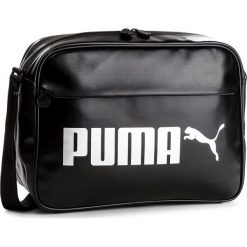 Torebki klasyczne damskie: Torba PUMA - Campus Reporter 075005  Puma Black 01