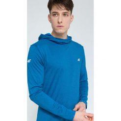 Bluzy męskie: Bluza treningowa męska BLMF003 – denim melanż